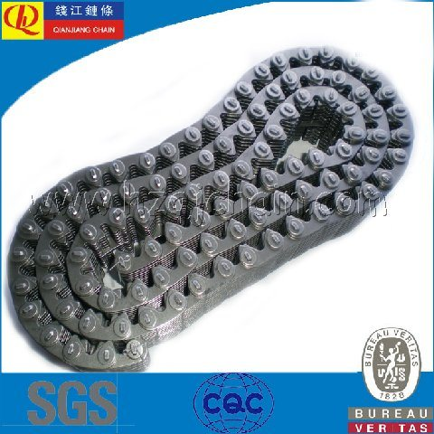 "Carbon Steel 1/2"" Silent Chain for Machines"