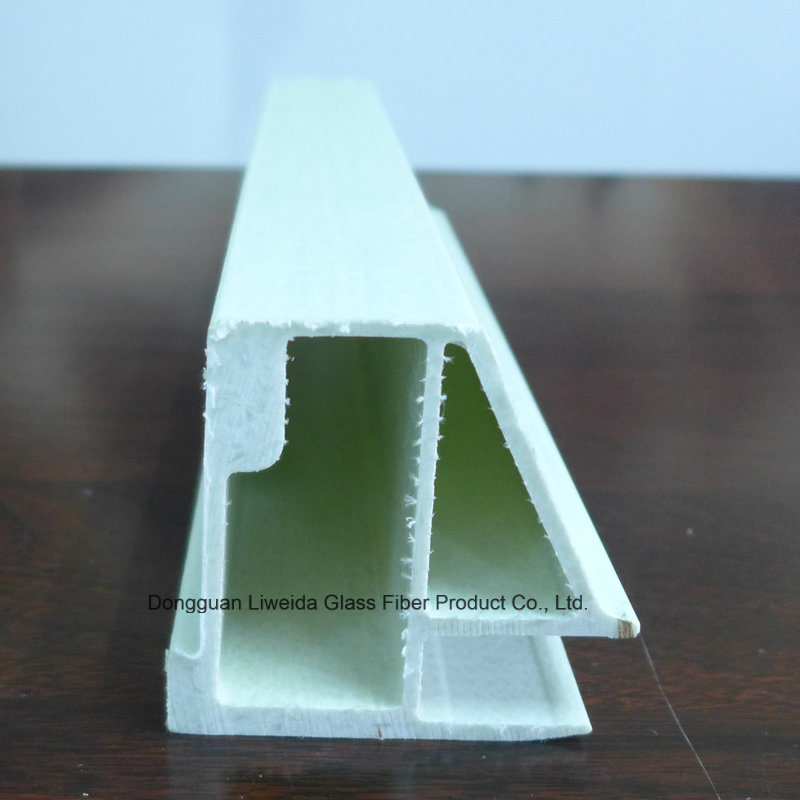 Customized Fiberglass Profile, FRP Plutruded Profile with Insulation for Construction