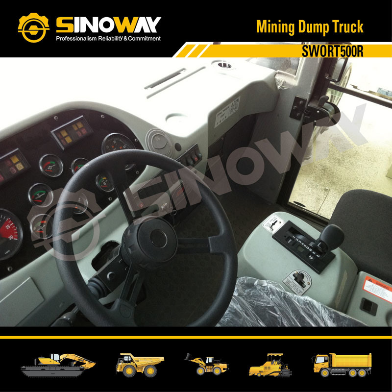 Rigid Dump Truck, Mining Truck with 45 Ton Loading Capacity