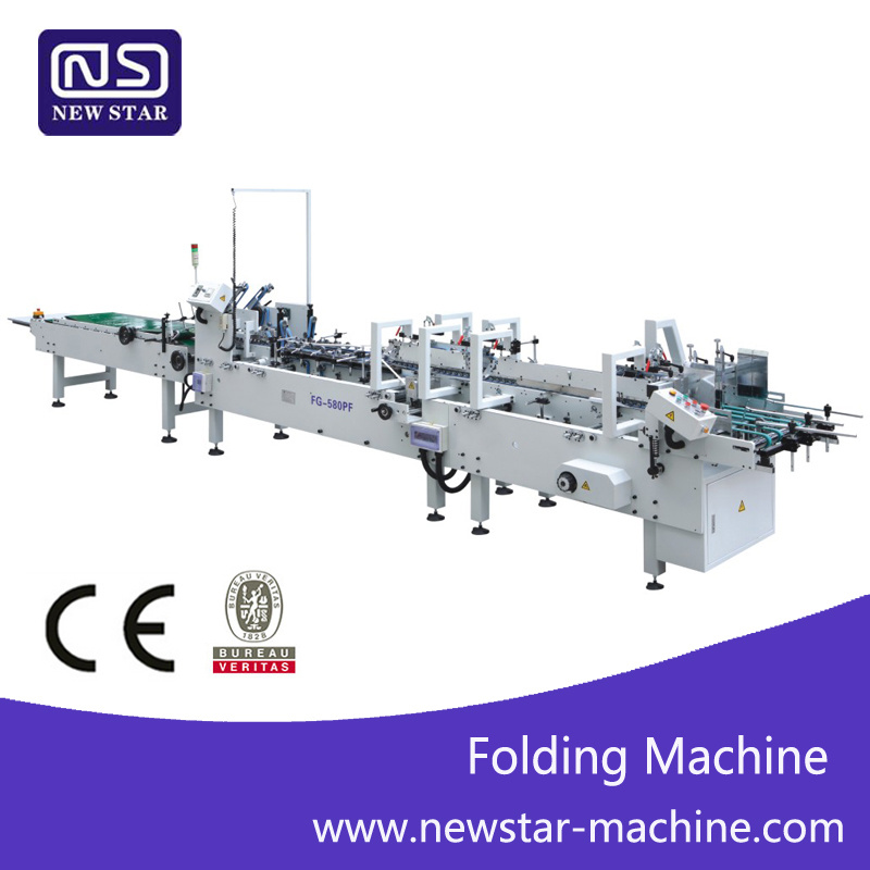 Nsfg-580pf Automatic Medicine-Box Folder Gluer Machine