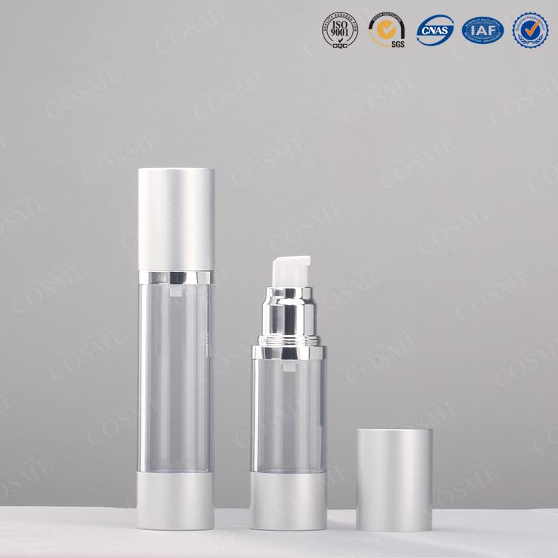 15ml 30ml 50ml 100ml Aluminium as Cosmetic Airless Pump Bottle