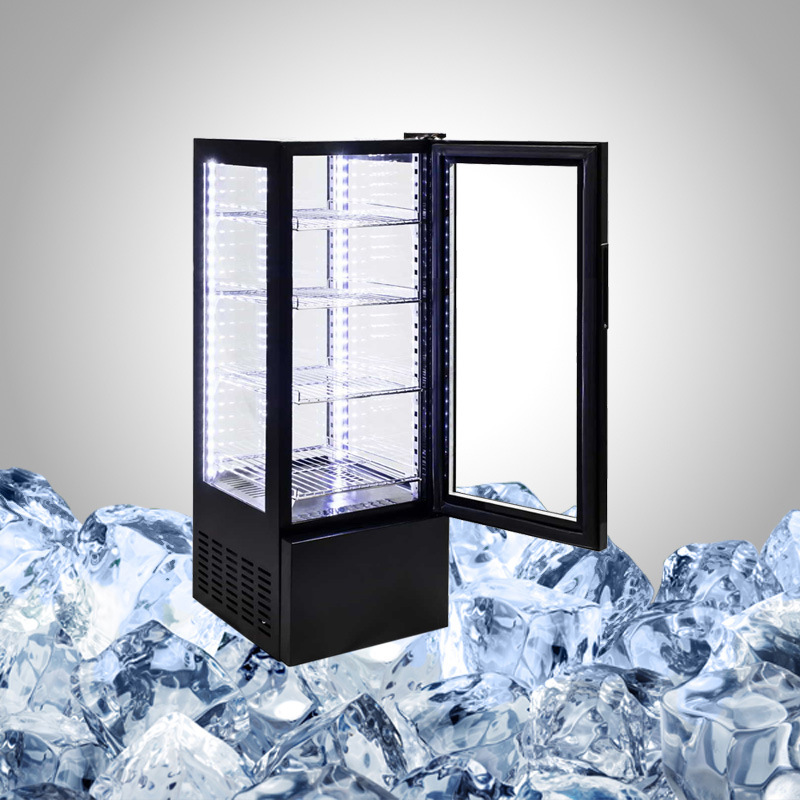Cooling Showcase All Glass Refrigerator
