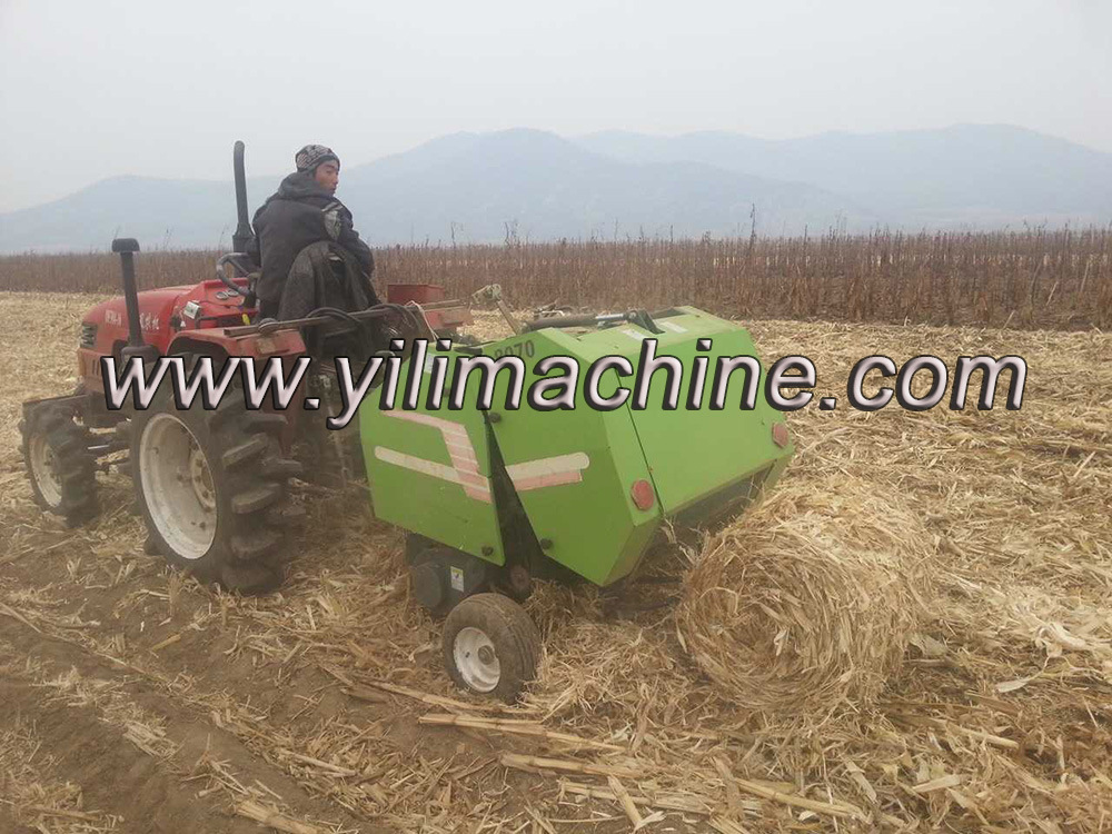 Mini Round Hay Bander for Small Tractor