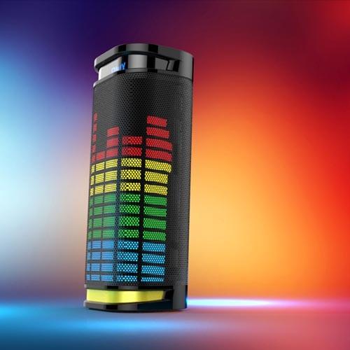 Portable LED Bluetooth Speaker, Wireless and Mini