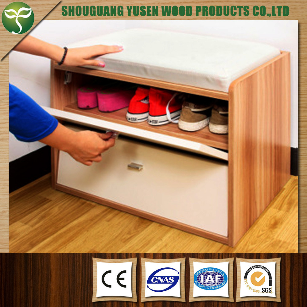 Wooden Shoe Rack for Home Furniture Use