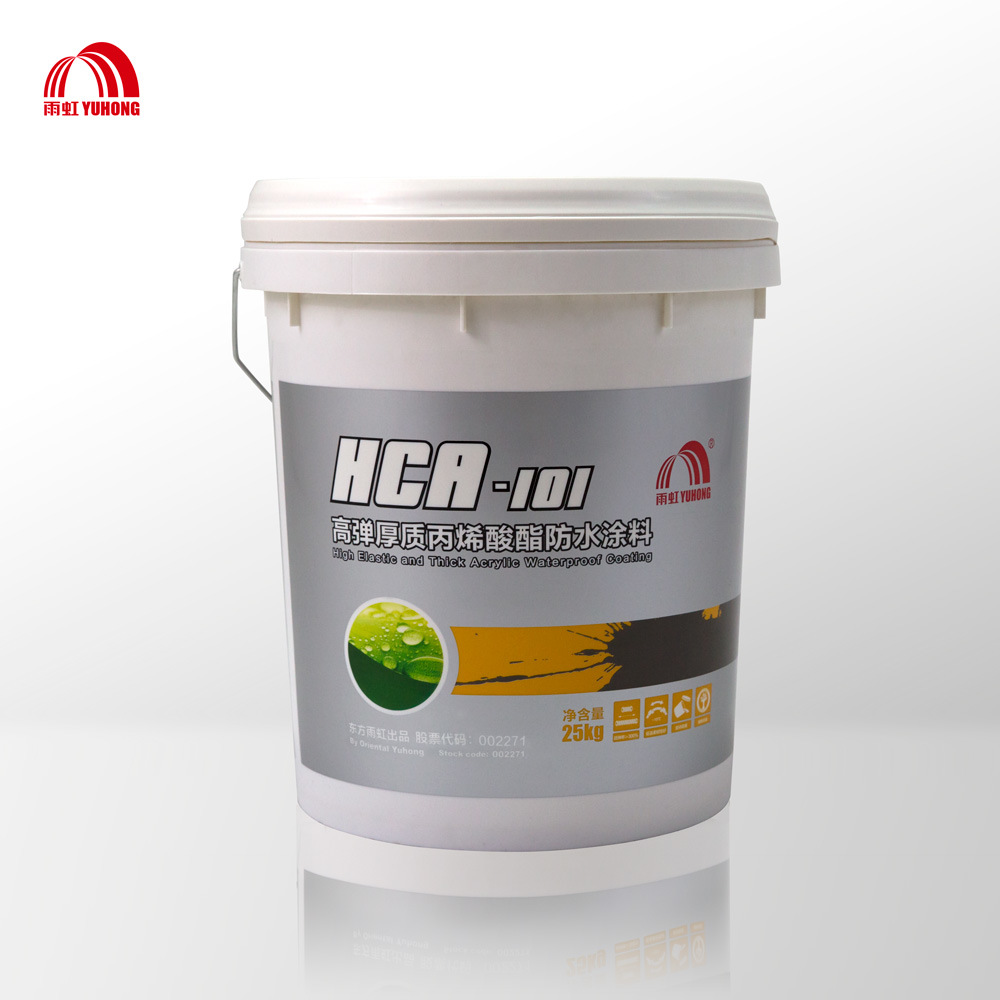 High Elastic Acrylic Roof Waterproof Coating