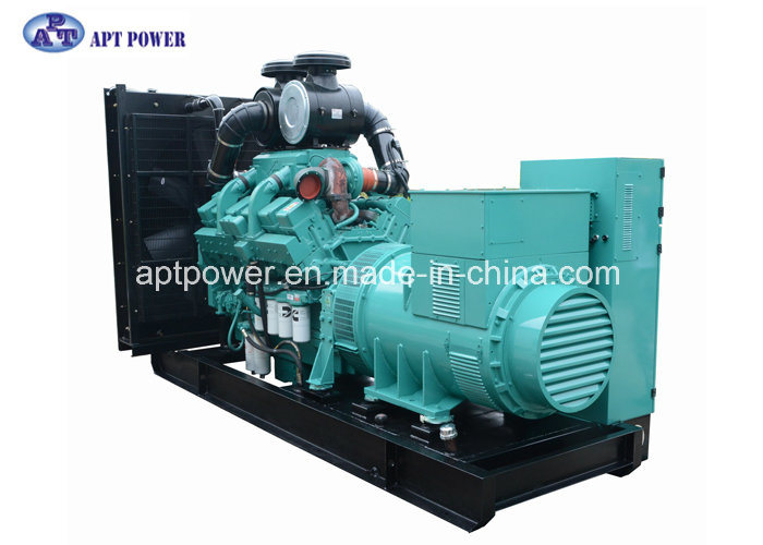 Compact 1250kVA Electric Diesel Generator Set Powered by Cummins Engine