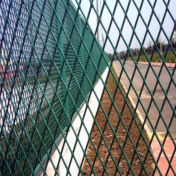 Coated Expanded Metal Mesh Panel