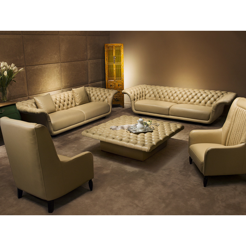Good Quality Leather Sofa: China High Quality Living Room Leather Sofa (B1) Photos