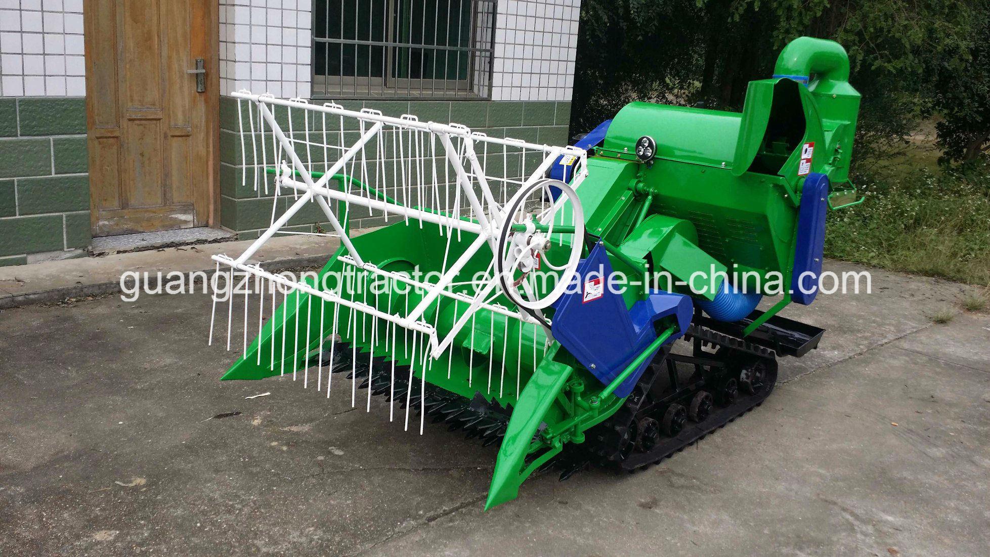 4lz-0.7 Rice and Wheat Combine Harvester Mini Type