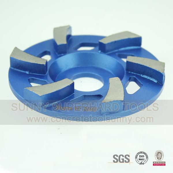 4 Inch Concrete Floor Diamond Grinding Cup Wheel