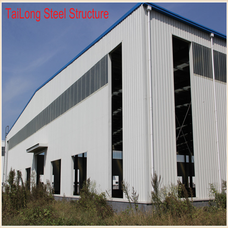 Heavy Duty Large Span Prefabricated House Steel Building