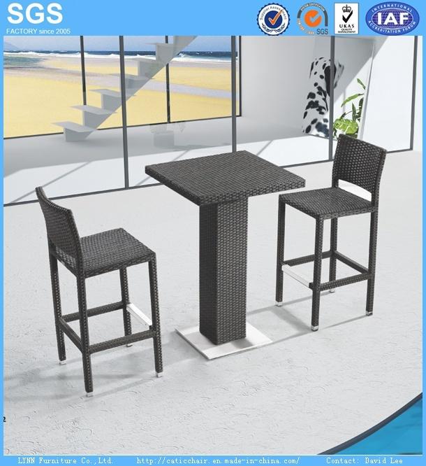 PE Rattan Bar Furniture Rattan Bar Stools Rattan Bar Table