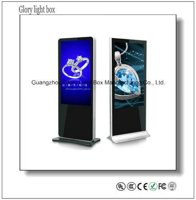 32′′ Wall Mount Full HD WiFi 3G Digital Signage Advertising LED Display Screen for Advertising
