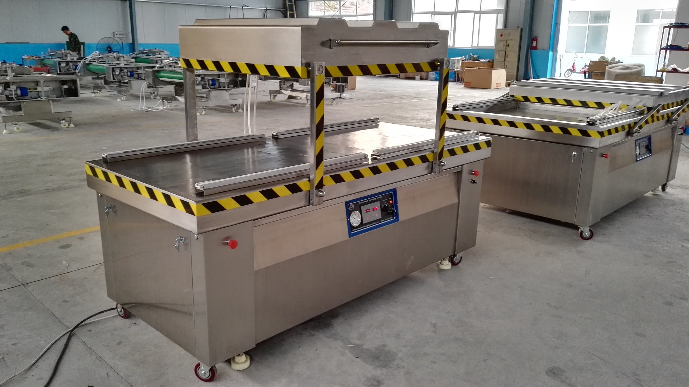 Stainless Steel Customized Double Chamber Fully Automatic Vacuum Packing/Packaging Machine