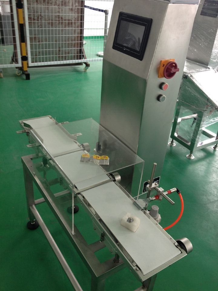 High Speed Auto Conveyor Check Weigher for Weight Less 2000g
