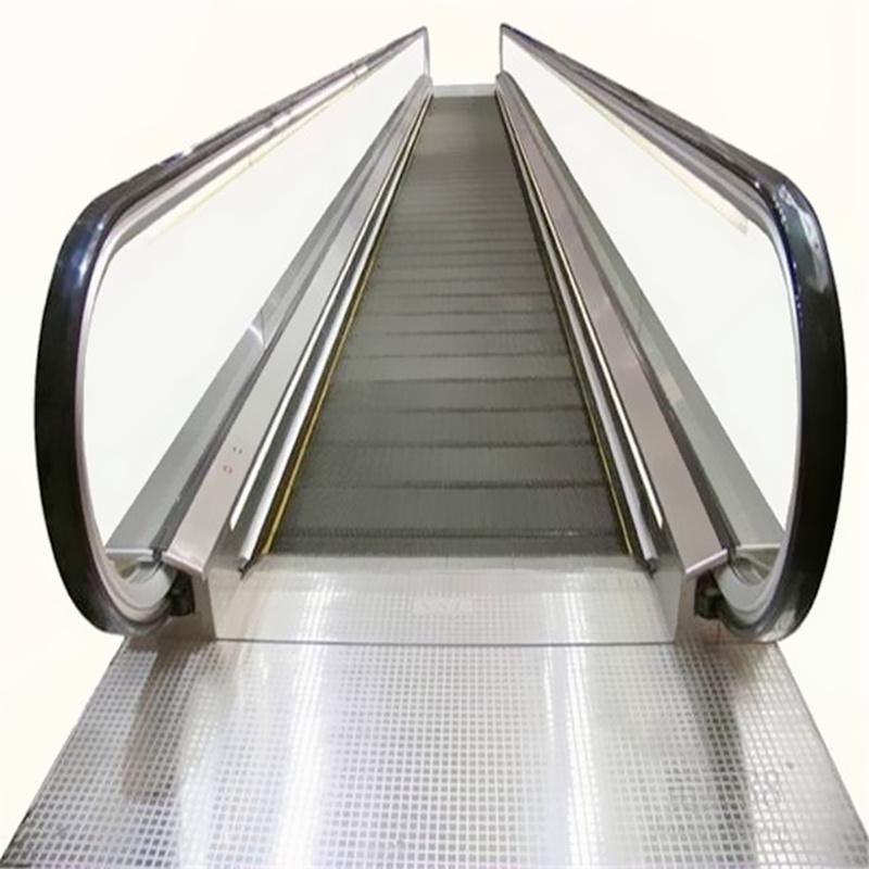 800mm Width Steps Outside Escalator Moving Walk 12 Degree 0 Degree