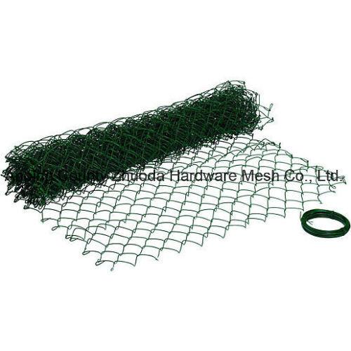 China Premium PVC Coated Chain Wire Fence/Cyclone Fence/Diamond Mesh ...