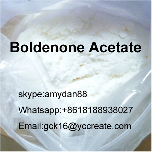 Steroid Powder Boldenone Acetate for Muscle Growth CAS: 2363-59-9