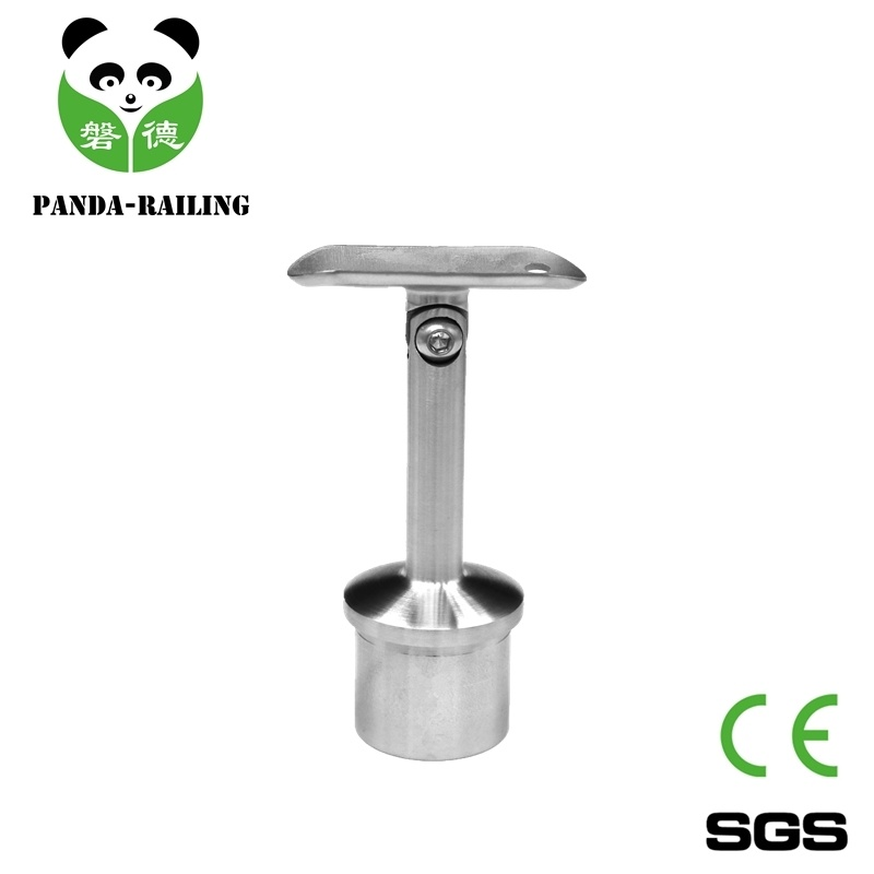 Stainless Steel Adjustable Handrail Support/Handrail Fittings/ Staircase Fitting