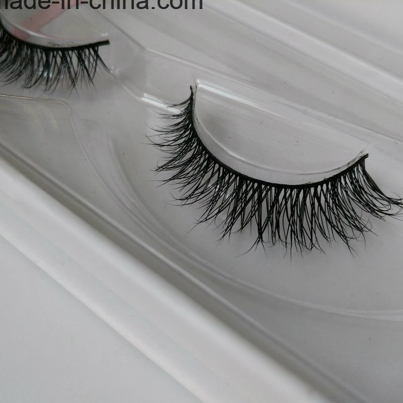 2017 High Quality Wholesale Private Label Real Mink Strip Eyelashes