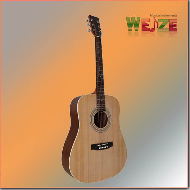 Spruce Sapele Plywood Acoustic Guitar