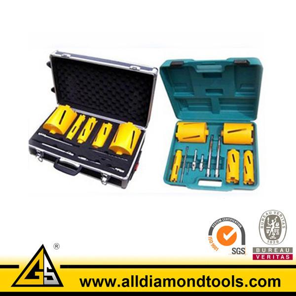 Diamod Core Drill Bits Set-Tool Box