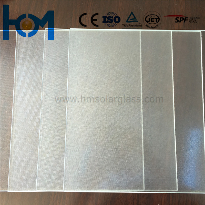 3.2mm/4.0mm Tempered Arc Clear Low Iron Solar PV Safety Flat Sheet Glass