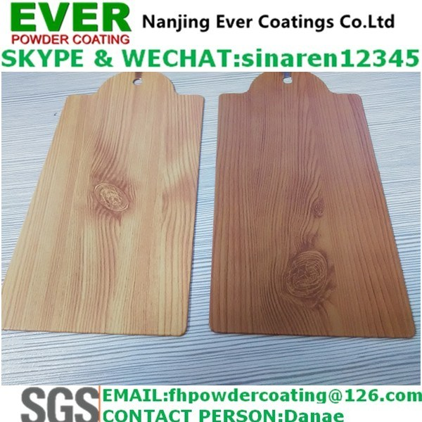 Sublimation Wood Grain Texture Powder Coating