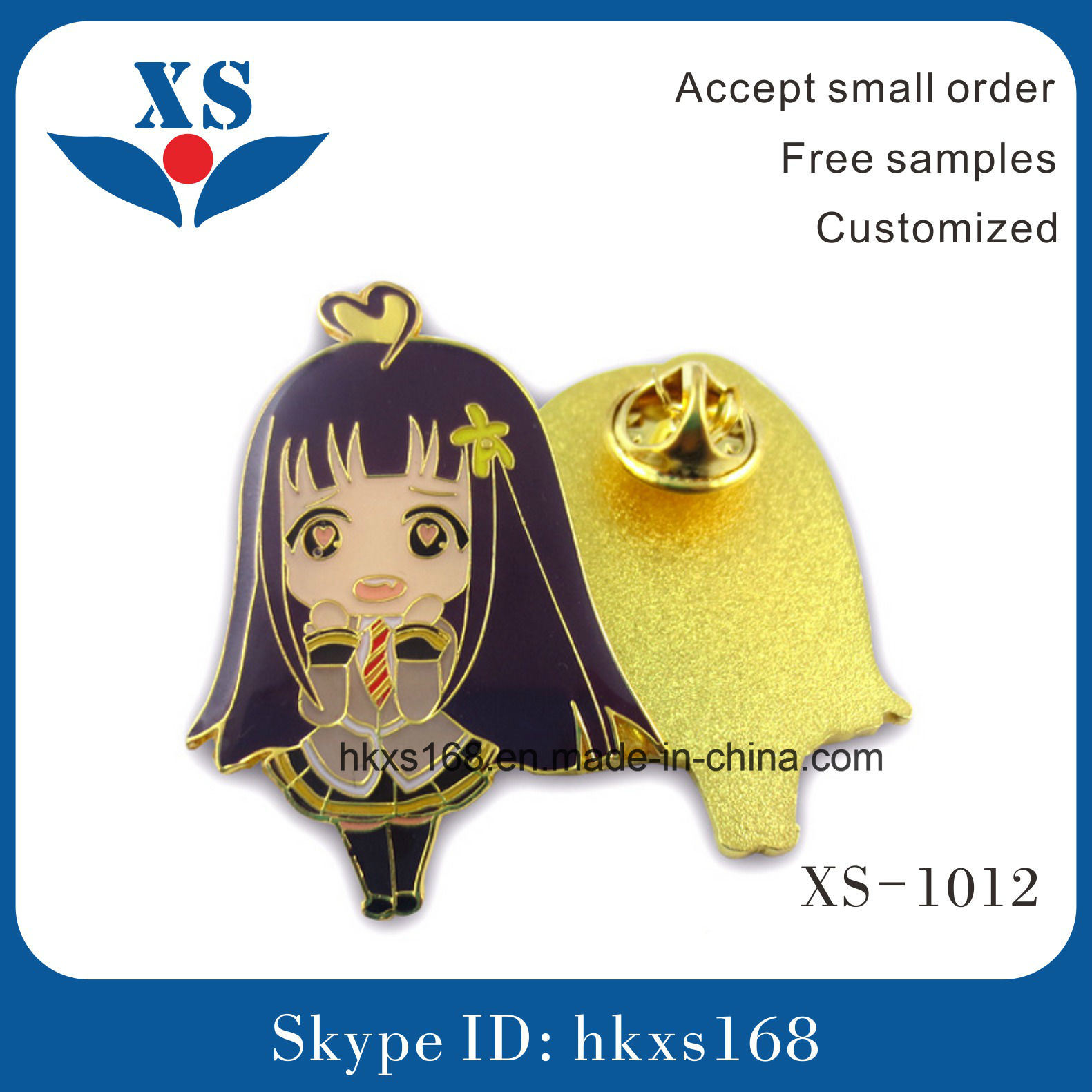 Cheap Custom Badges with Soft Enamel