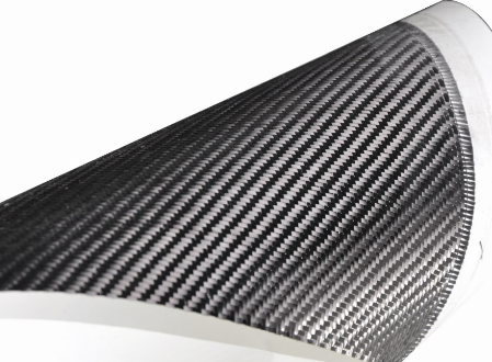 Carbon Plate with Carbon Fiber Presoak Cloth