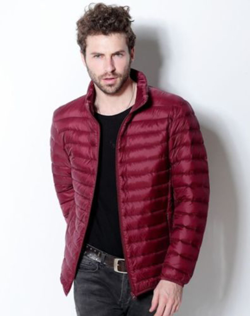 New Winter Men′s Ultra Light Weight Down Jacket