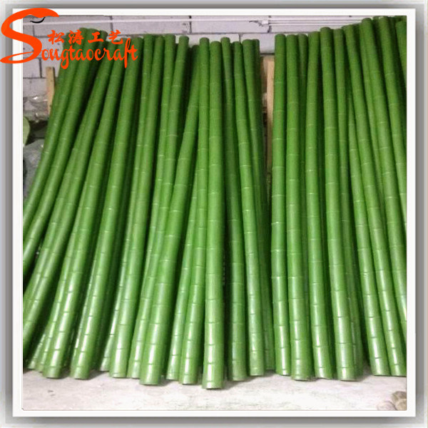 Guangzhou Factory Wholesale Artificial Plastic Raw Bamboo Poles