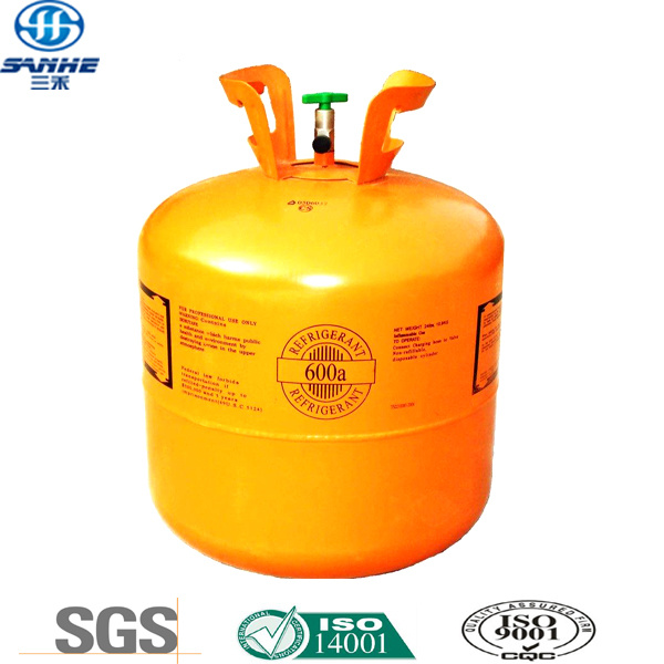 Isobutane R600A Refrigerant in Disposable GB Standard Cylinder