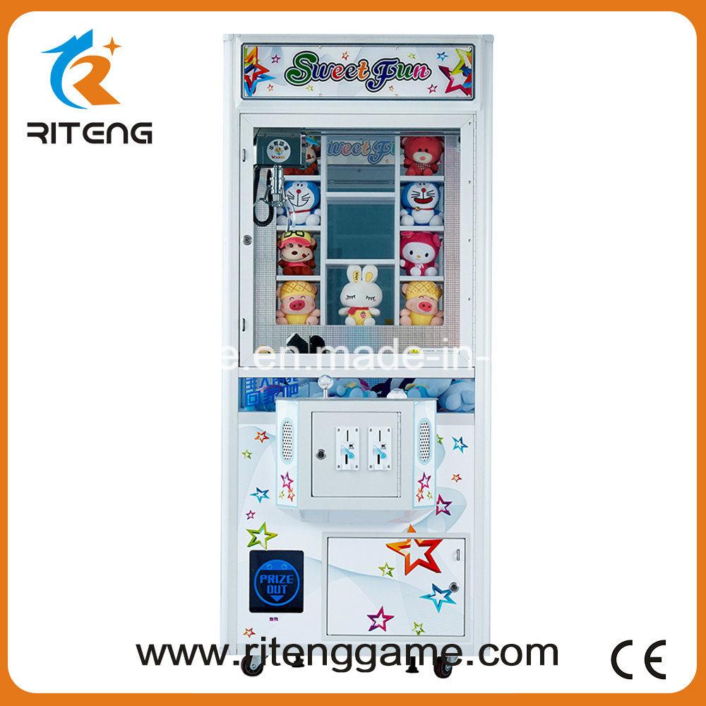 Key Master Push Arcade Gift Crane Claw Machine for Sale