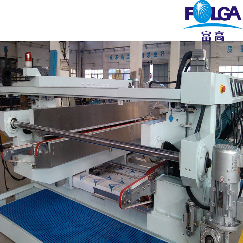 Glass Straight Line Double Edging Machine Production Line (FSM0825BL+FPT2516+FSM0816BL)