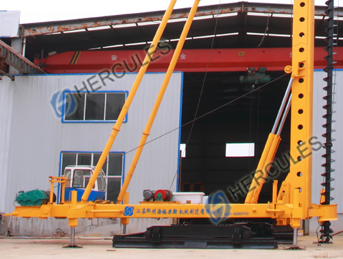 Foot-Step Long Auger Drilling Rig