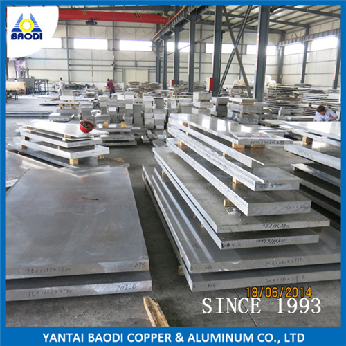 Rolled Alloy Aluminium Sheet and Plate 6061 6082 T6 T651 4′*8′ for Tooling Mould From China Supplier Factory Price