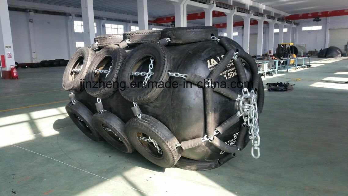 Pneumatic Marine Rubber Fender Can Be Folded
