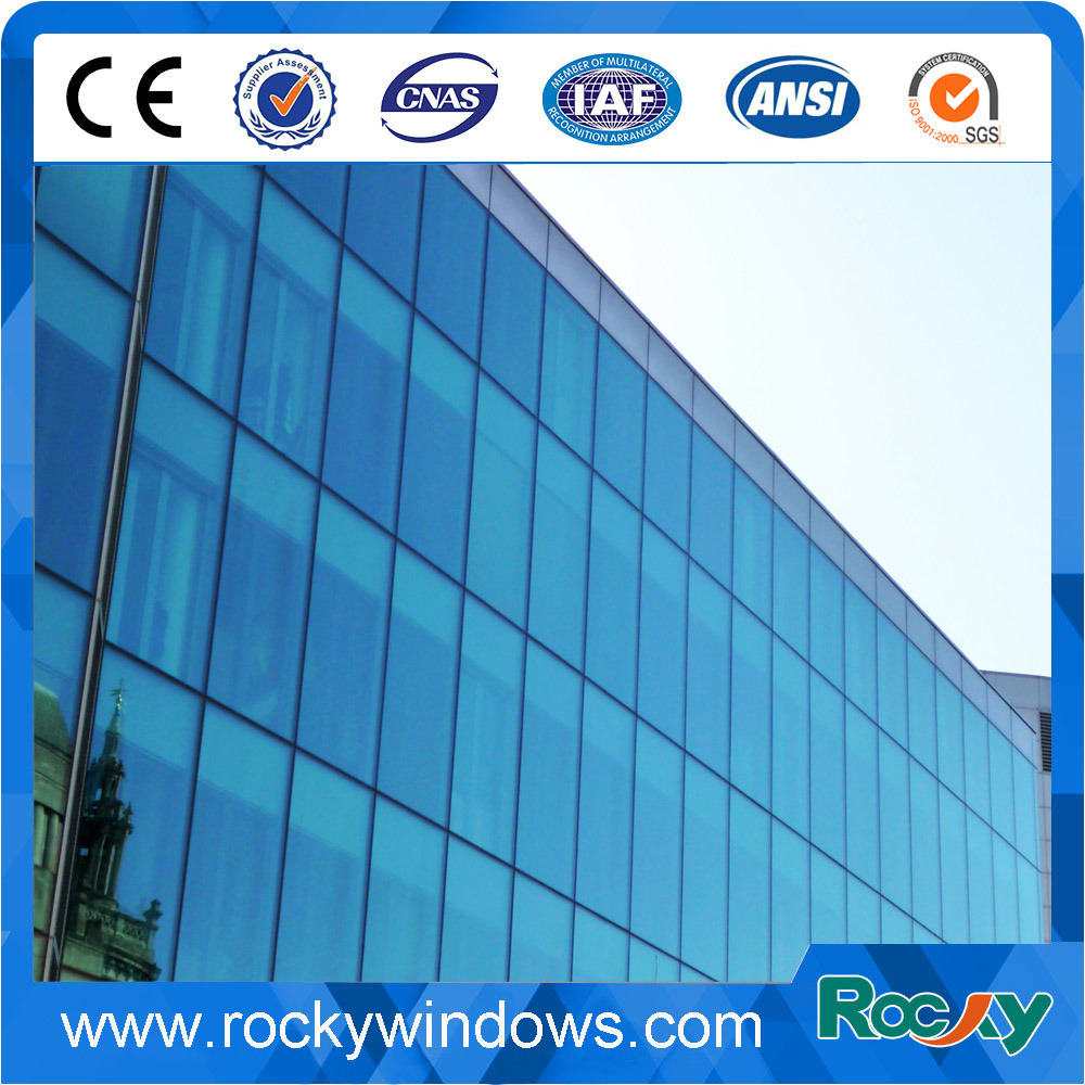 Storefront/Unitized/Invisible Frame/Structure Aluminum Glass Curtain Wall