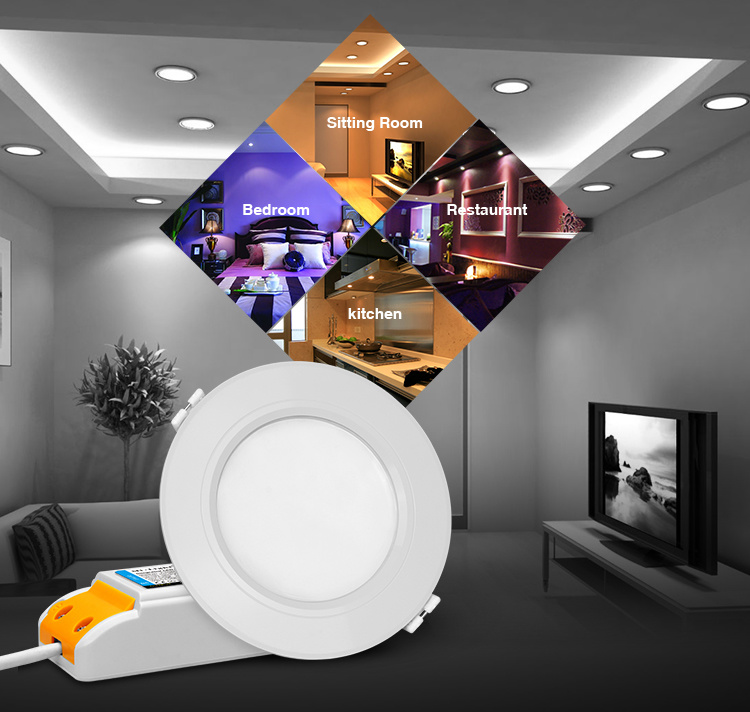 6W LED RGB+Ww-Cw Downlight