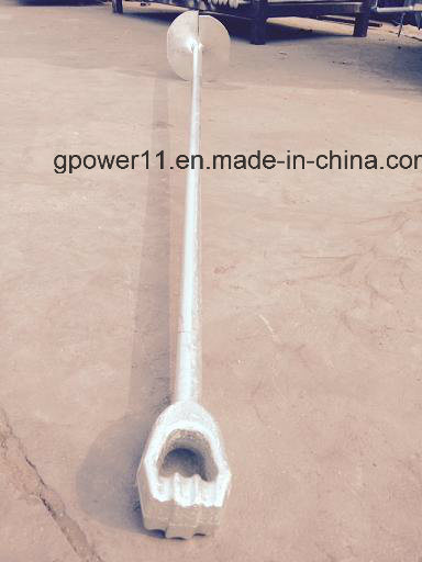 Forged Line Fitting No Wrench Screw Anchor Rod