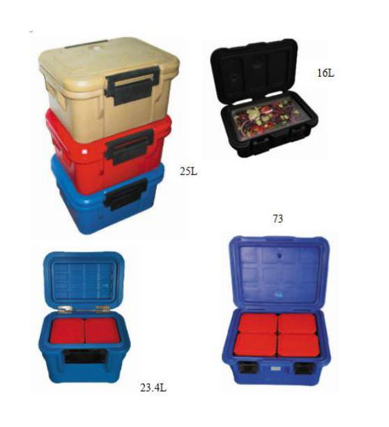 Durable Cooler Box, Ice Box, Top Loading Insulated Food Box