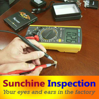Radio/ Electrical Product Quality Control/ Inspection Services in China