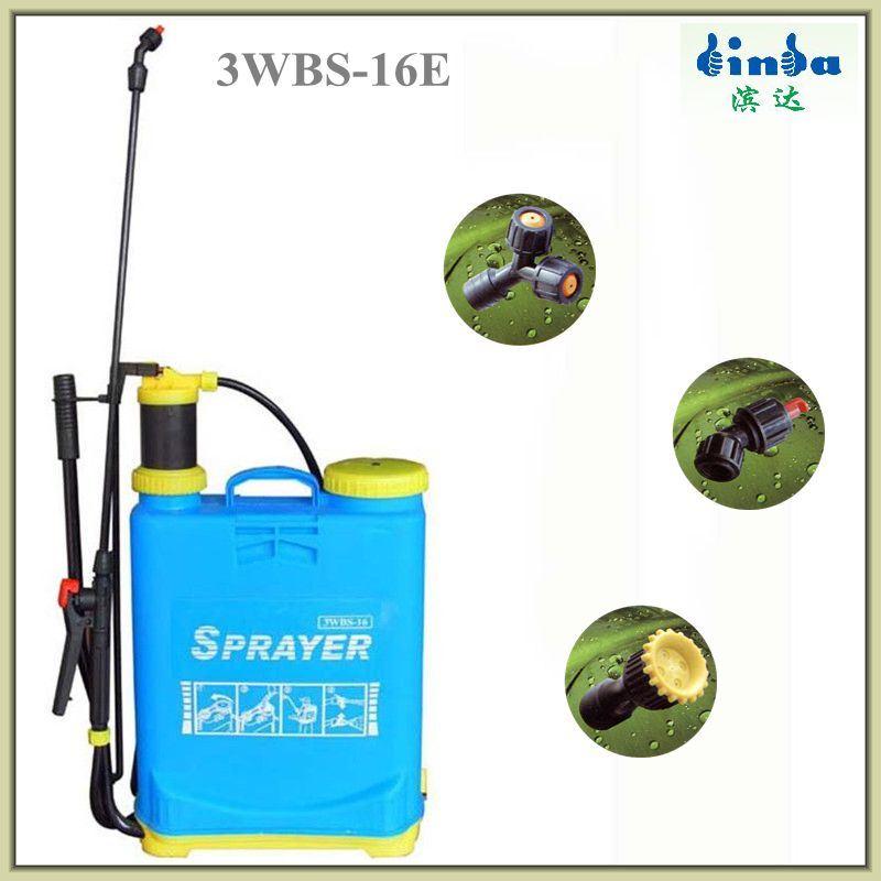 16L Agriculture Tool Hand Backpack Knapsack Pressure Sprayer