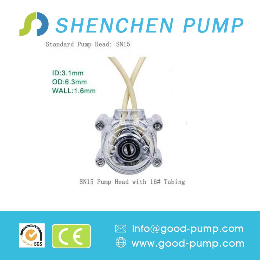 12V 24V Flow Rate 0~1700ml/Min DC Motor OEM Peristaltic Pump