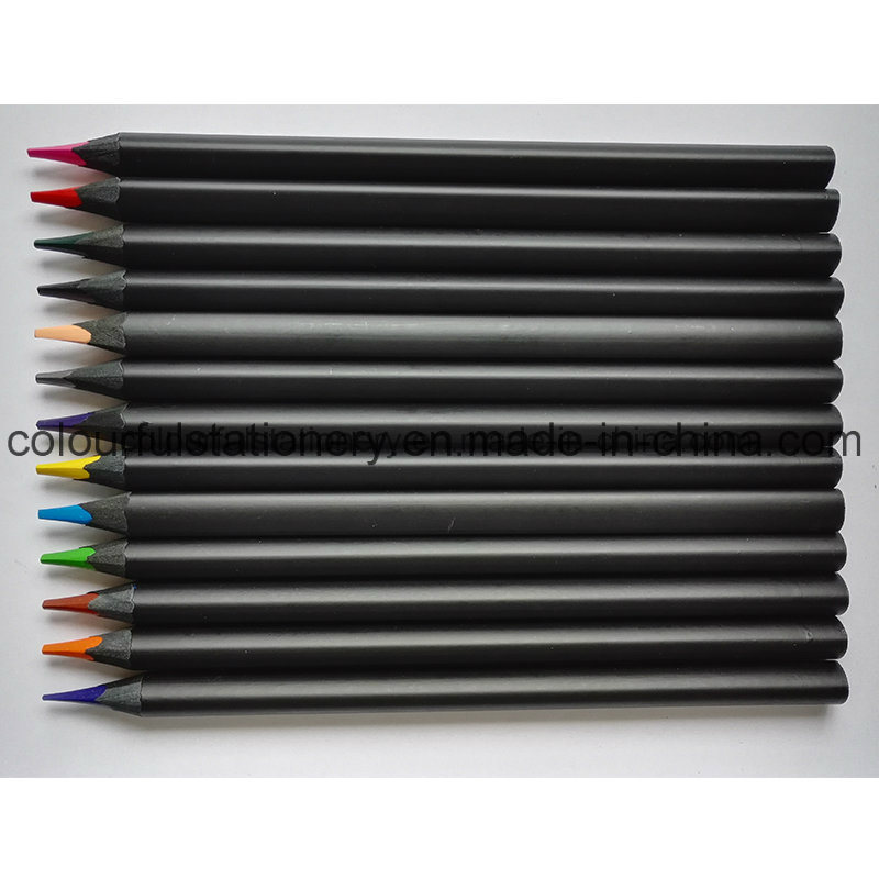 Black Wood Color Pencil
