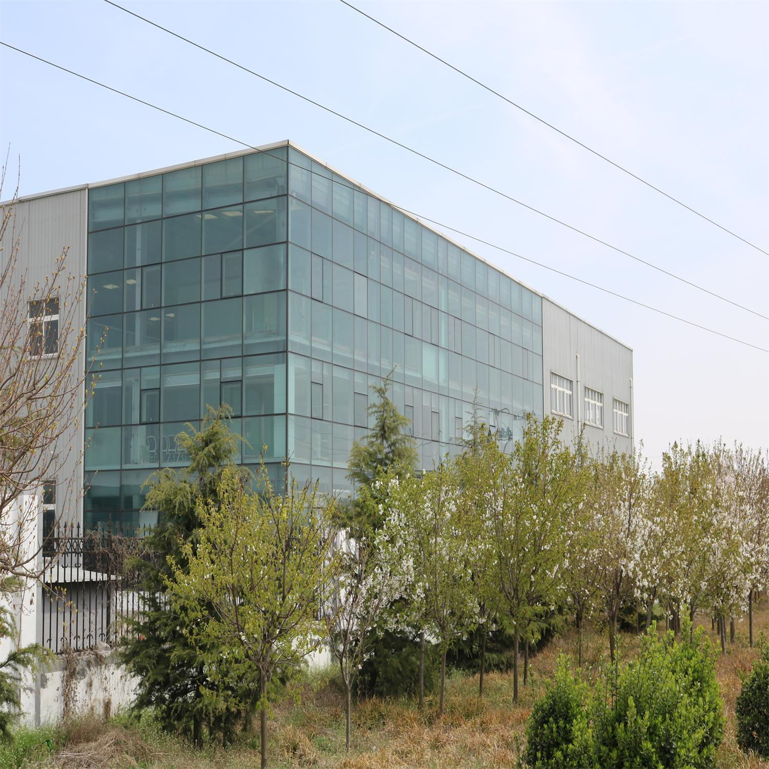 Good Looking Steel Structure Showroom Building with Glass Curtain Wall