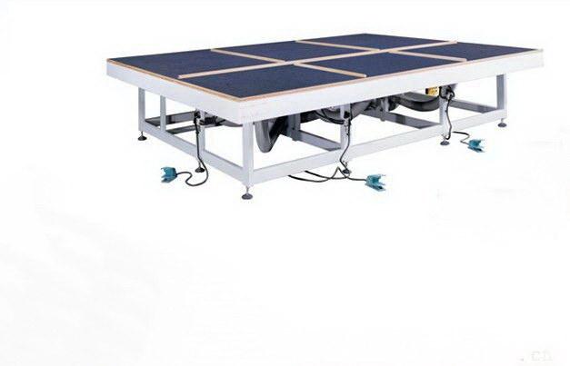 Glass Air Cushion Table, Manual Glass Cutting Table