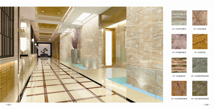 UV Coated Marble Sheet Wall Panel Interior Decoration Board